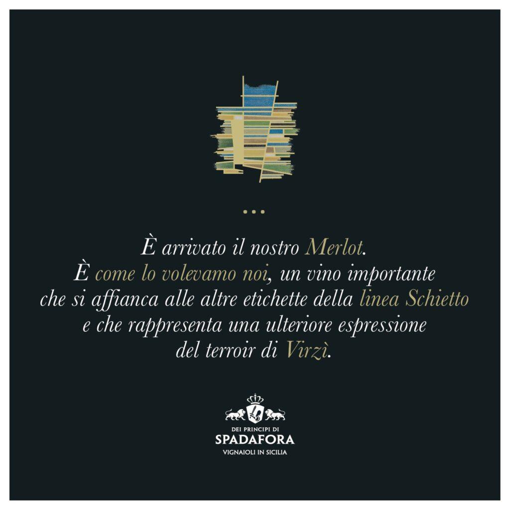 Merlot week 2021 Dei Principi di Spadafora produttori vino biologico